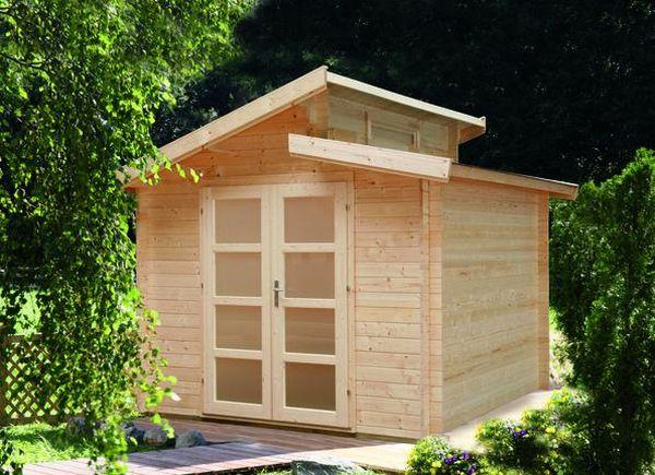 gartenhaus 40mm gro koschener holzblockh user. Black Bedroom Furniture Sets. Home Design Ideas