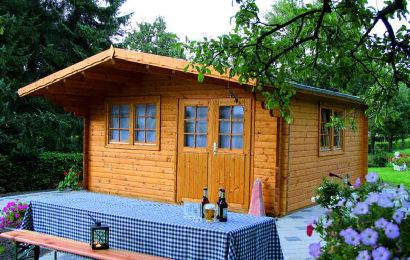 gartenhaus 70mm gro koschener holzblockh user. Black Bedroom Furniture Sets. Home Design Ideas