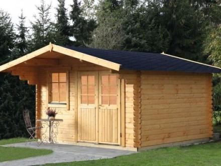 Gartenhaus 44mm   Großkoschener Holzblockhäuser