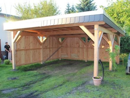 Garten carport
